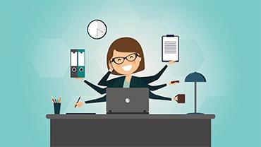 مسئول دفتر و منشی حرفه ای